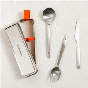 Small:Hours Traveling Stainless Steel Cutlery Set